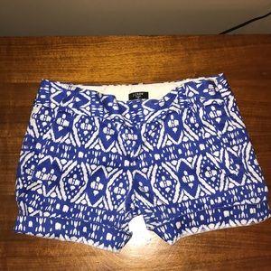 J. Crew Patterned Shorts